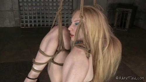 HardTied Delirious Hunter Blondie in Restraint bondage
