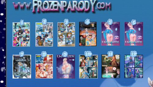 Frozen Parody Collection 1-12
