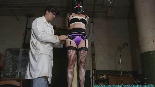 Polly Post Tied - Part 1 BDSM