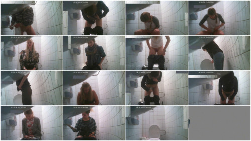 Hidden Camera In The Student Toilet - Vol. 5 - HD 720p Hidden camera