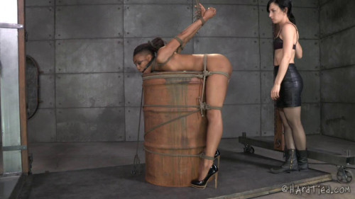 Nikki Darling My Time In The Barrel BDSM