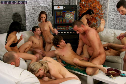 Their Bisexual Orgy Got Off To The Hardcore As Fuck Start