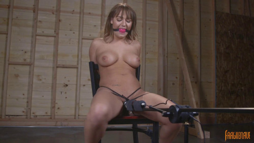 All Natural Charlotte Chair Bound BDSM