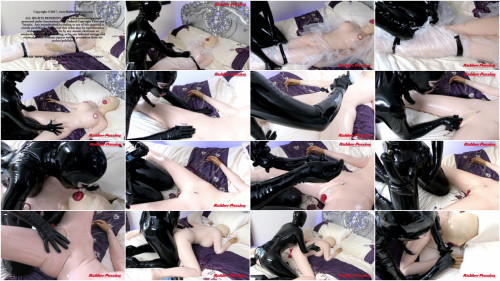 Rubber Doll Play Thing BDSM Latex