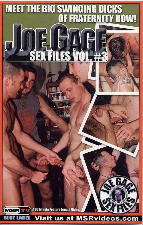 Joe Gage Sex Files 3: Kegger Frat Party