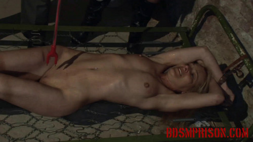 BDSMPrison - Mirela is Tormented with a Cattle Prod in Punishment & Imprisonment