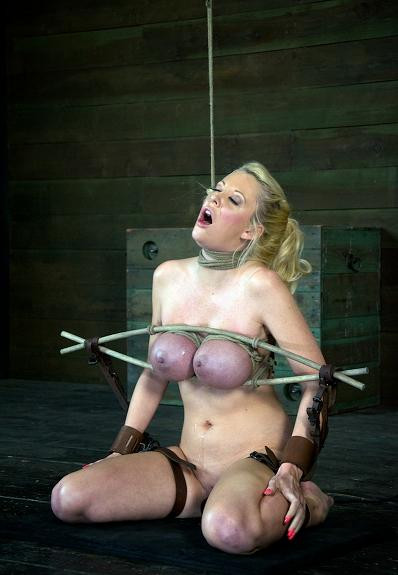 Fantastic girl in hard BDSM