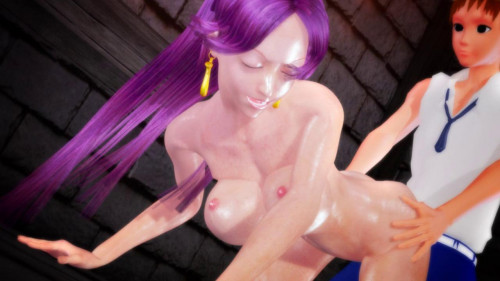 Prison Snake Princess 3D Porno