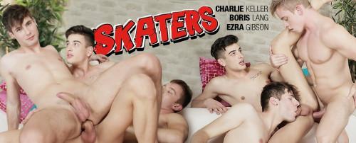 Raw Skaters, Scene 3 - Boris Lang, Charlie Keller, Ezra Gibson