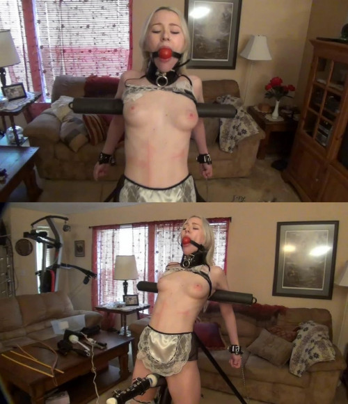 Super bondage, domination and torture for sexy slave model