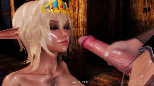 Futanari Fantasy 3D Porno