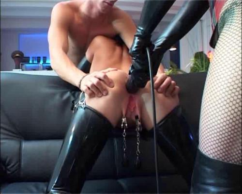 Herrin Silvia BDSM Latex