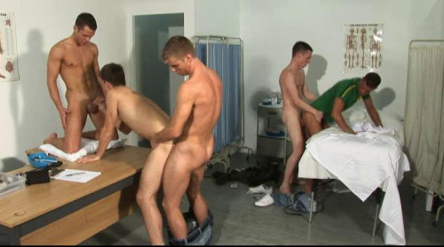 Soldier boys like hard anal with gangbang