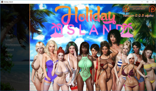 Holiday Island Porn games