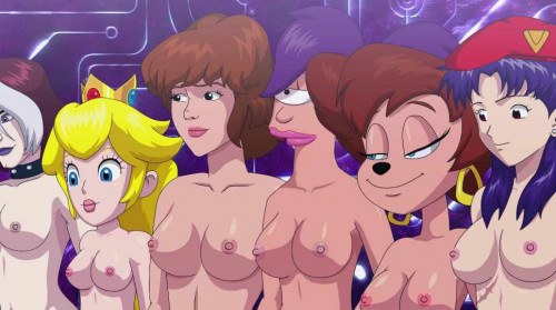Epic Crossover Cartoon Porn