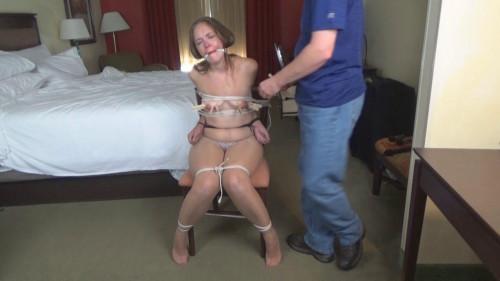 Rachel Suffers Intense Nipple Torture in Hotel BDSM Hell