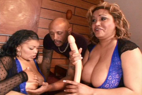 One Dick, Two Girls and a Dildo
