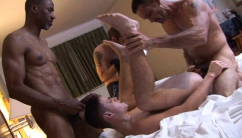 Interracial Anal With Fucktards Gay Full-length films