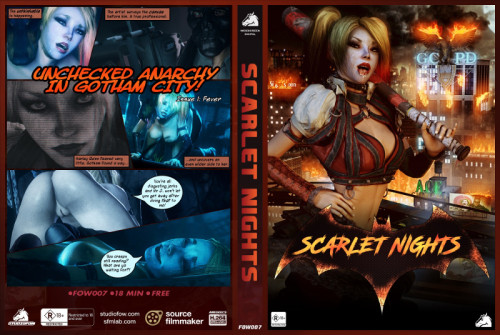 Scarlet Nights vol.1 Cartoons