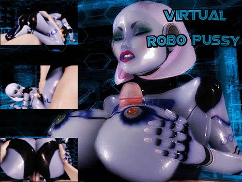 Virtual Robo Pussy Cartoons