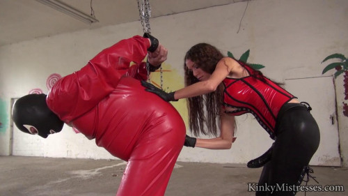 Slave in Red Rubber