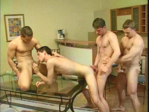 Young cute friends in hot group fuck Gay Movie