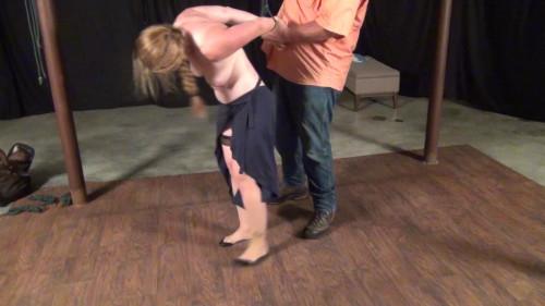 Carmen Rough: Manhandled and Bound - ITN