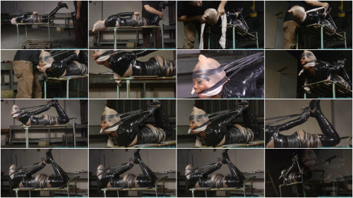 Severe Tape Bondage For Rubee Rox - Part 3 - HD 720p BDSM Latex