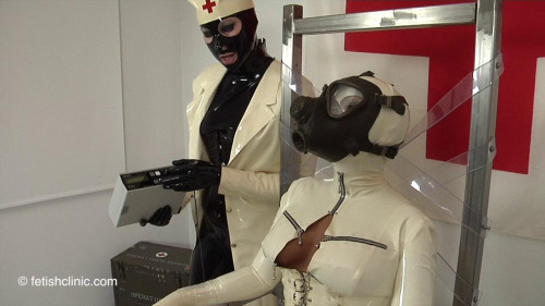 Electrostim in the Metallic Chair - Anna Rose and Valentina Pt TWO
