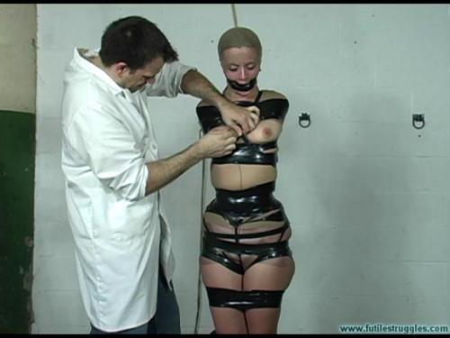 Eden Dream - PantyHose and black tape Encasement - Part 1