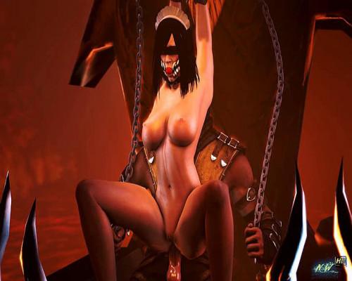 Mileena 3D Porno