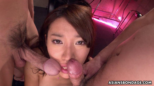 Asiansbondage - Jul 08, 2016 - Adorable Anna Takizawa gets gangbanged so hard