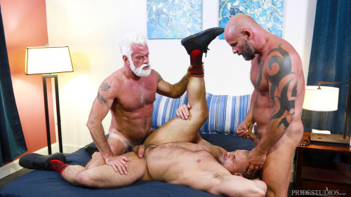 Muscle  Bears - Jaxx Thanatos, Jake Marshall & AJ Marshall (1080p)