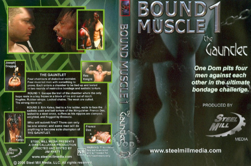 Bound Muscle vol.1 The Gay BDSM