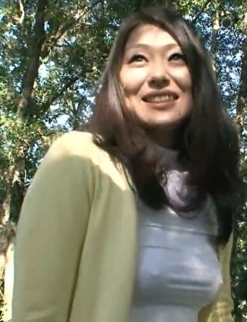 Mana Funaki - Sex In The Forest With A Wife Who Has Red Pubes HD Censored Asian