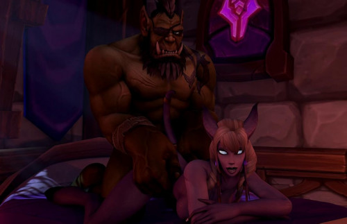 Warcraft Night Fucking 3D Porno