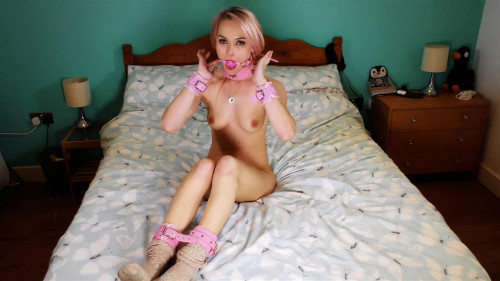 Super tying, wrist and ankle bondage and torment for hot golden-haired part 1 HD 1080p