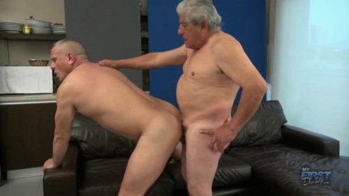 MyFirstDaddy - Macho Grandpa Fucks Horny Daddy - Greko, Kenso Gay Clips