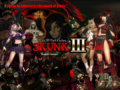 Real-time 3d total violation fantasy skunk iii  (english version)