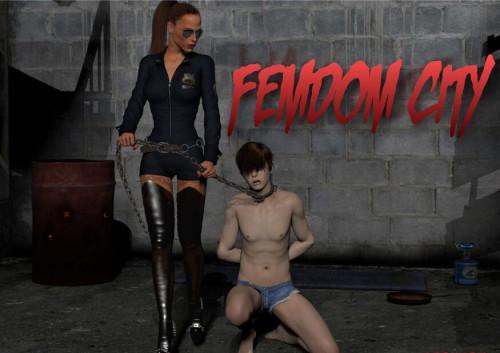Femdom City Porn games