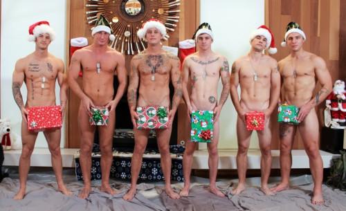 Christmas 2016 - 6-Man Orgy Gay Clips