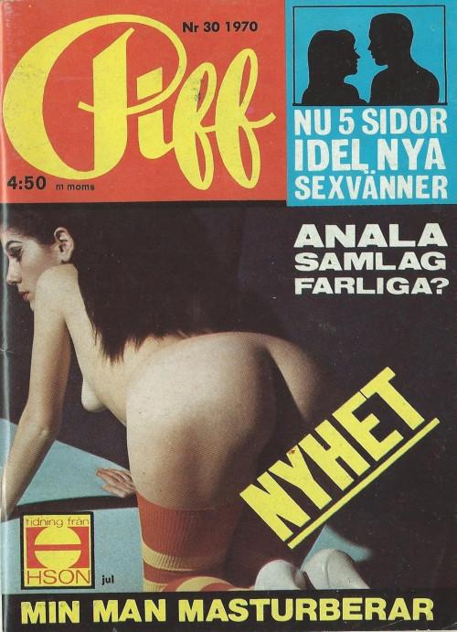 Piff Magazine 1970 vol 28,30,47 Magazines