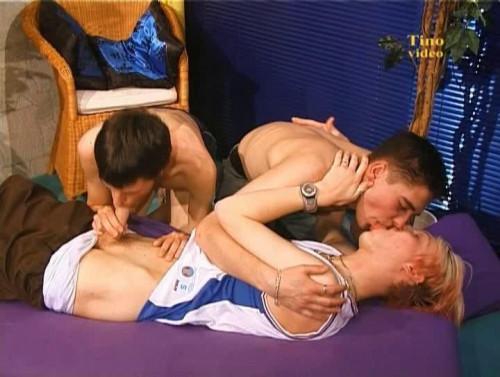 Playful lads barebacked hard