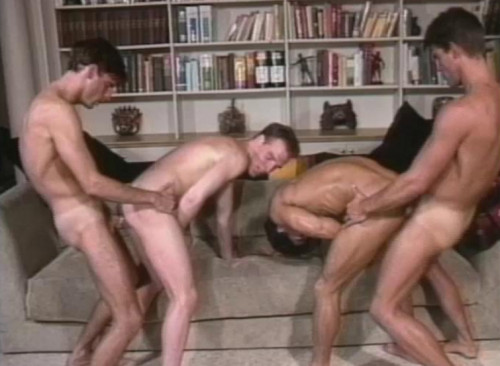 Big Retro GangBang Gay Retro