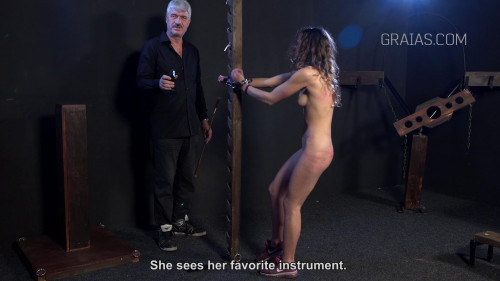 Young Model Gets Hardcore Punishment
