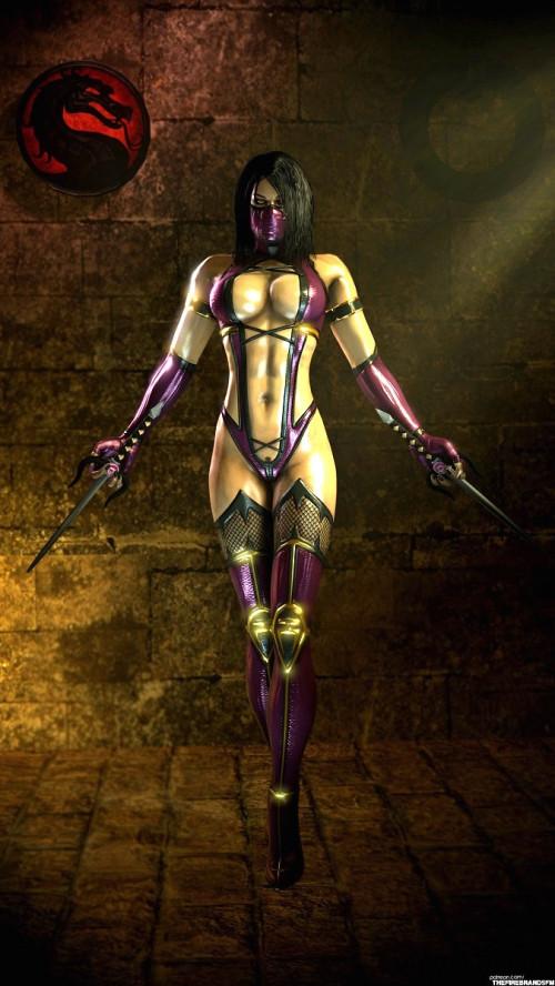 Mileena - Mortal Kombat - Assembly 3D Porno