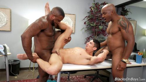 Blacks On Boys - Jim Fit, Micah Martinez and Smash Thompson 1080p