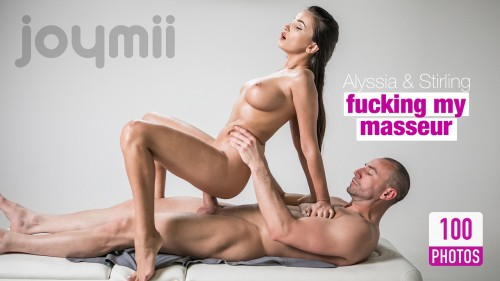 Alyssia Kent and Stirling Cooper - Fucking my masseur FullHD 1080p Sex Massage