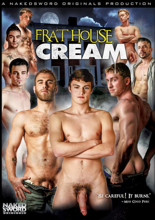 Frat House Cream Gay Porn Movie