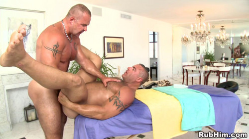 RubHim - Trace Michaels massages and flipfucks Adam Rogue Gay Clips